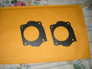 NEW FORD F1AZ9H486A FUEL INJECTION PLENUM GASKET SET OF 2
