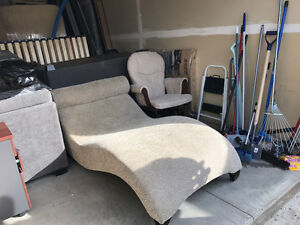 fridge and a Chaise for sale