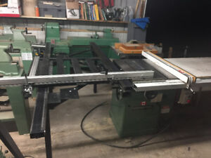 General 350 cabinetmakers table Saw 3hp 220v ph1