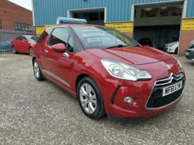 image for Citroen DS3 1.6 VTi DStyle 3dr AUTOMATIC HATCHBACK 2011 61 REG RUBY RED