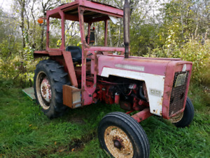 1970 International Harvester and Bush Cutter