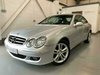 Mercedes-Benz CLK 220 CDi Avantgarde Auto, Silver, 85k, Full MB dealer history