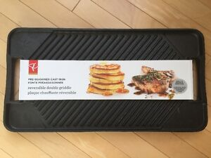 Reversible Double Griddle - New