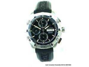 Tag Heuer Watch Mens Aquaracer Automatic Day Date Caf2010 Watch 146329