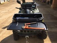 Box for quad bike. Arctic cat, Suzuki Honda, Polaris, Kawasaki