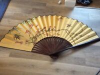 Beautiful decorative fan - large x1