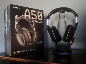 Astro a50 wireless headset for ps4 ps3 pc or mac