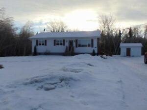 Turn-key home on 2 acres, big family room, large deck and shed!