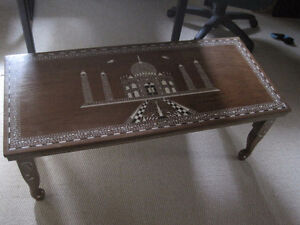 Inlaid Indian Coffee Table