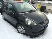 2007 Honda Fit LX w/Cruise Control Sedan