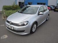 Volkswagen Golf 1.6TDI ( 105ps ) Tech 2012MY BLUEMOTION Silver FSH