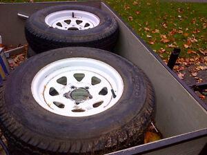Trailer rims wheels