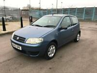 Fiat Punto 1.2 8v Active + 2003/53 + ONLY 77K + JAN 18 MOT +