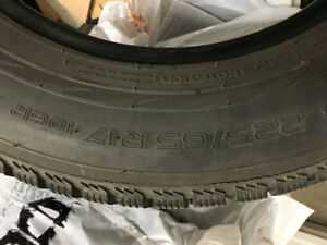 Nokia Snow Tires.  225/65 R17 Used 3 years in Victoria