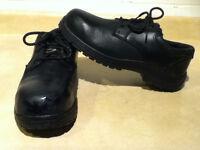 Men's Workload Steel Toe Work Shoes Size 10