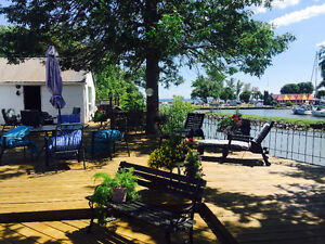 Private Lakefront House Rental on Lake Ontario at Newcastle