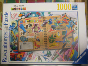 "Ravensburger 19816 Disney Pixar ""Scrapbook"" - 1000 Piece Puzzle"
