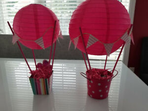 Pink Balloon Decorations Centrepieces - Baby, Birthday, Wedding