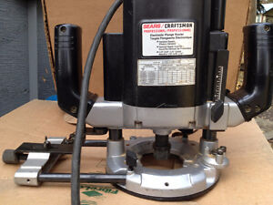 professional craftsman electronic plunge router