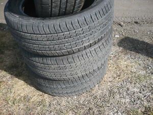 Four matching 235-50-19 tires   $300.00