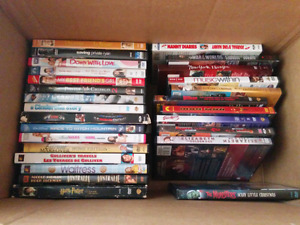 Box of movies all good shape