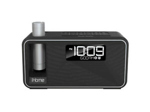 iHome iKN105 Kineta K2 Dual Charging Alarm Clock Radio With BT