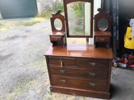 Antique dresser suitable for renovation
