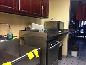 Coffee Shop / Restaurant Appliance & Furniture For Sale