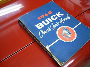 1960 Buick chassis manual