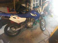 Yamaha TTR 125cc Motocross Bike