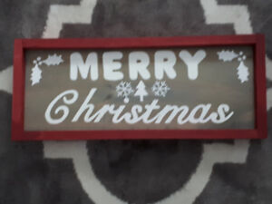 Handmade rustic wooden Signs- great for Christmas!