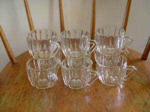 Vintage Glass Punch Bowl Cups: up to 8 doz. (96 cups)