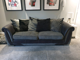 Sofa couch 3 seater grey