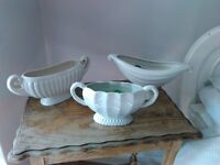 Constance Fry vases and one wedgewood
