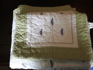 Pottery Barn Kids Twin Comforter and Pillow Sham.
