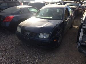 Parting out 01 Jetta 2.0l std