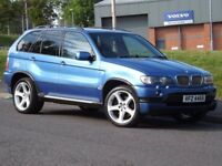 BMW X5 4.6is (blue) 2004