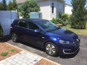 E golf 2017 confortline with 15 100 km