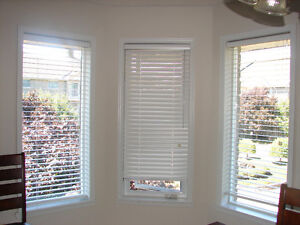 """High Quality 2"""" white blinds"""