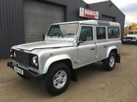 2004 (54) Land Rover Defender 110 2.5 TD5 County Station Wagon*9 SEATER *NO VAT*