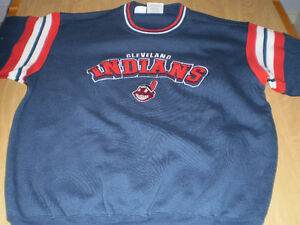 Cleveland Indians Sweater/Sweat Shirt Embroidered Logo - NICE! London Ontario image 1