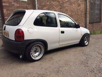 Vauxhall 4x100 banded steel wheels dub euro redtop gsi gte Sr c20xe c20let Saab vw