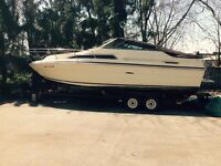 1983 - 24.5' Sea Ray with dual axial trailer