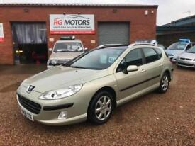 2007 Peugeot 407 SW 1.6 HDi S 110 5dr Estate, **ANY PX WELCOME**