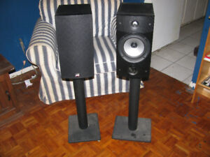 $150 · 1 pair PSB Image 2B Speakers with stands. Great sounds.
