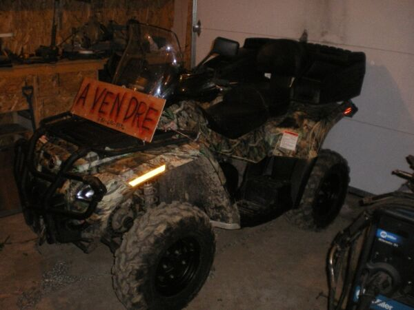 Used 2008 Can-Am outlander max xt