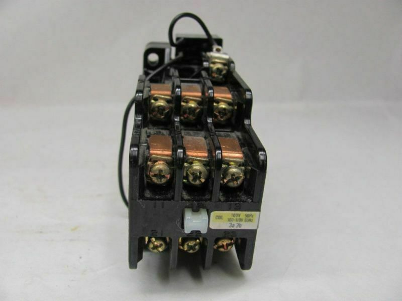 HITACHI, LTD. 23C89 AC CONTACTOR RELAY 600VAC  100-110V 50/60Hz COIL USED