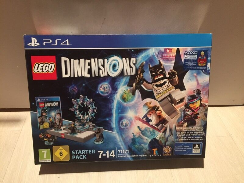 LEGO DIMENSIONS SUPERGIRL STARTER PACK SEALED (PS4)