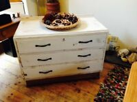 Beautiful Old Wooden Chest of Drawers