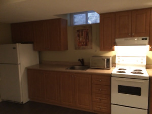 Furnished Basement Studio at St. Clair and Kennedy from March 1s